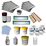 T-shirt Screen Printing Materials Kit E