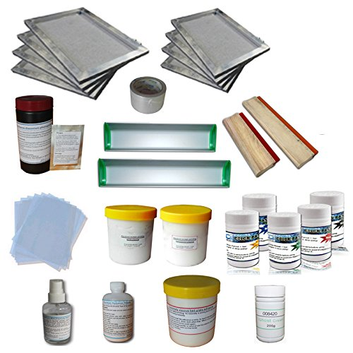 T-shirt Screen Printing Materials Kit E by Screen Printing Consumables