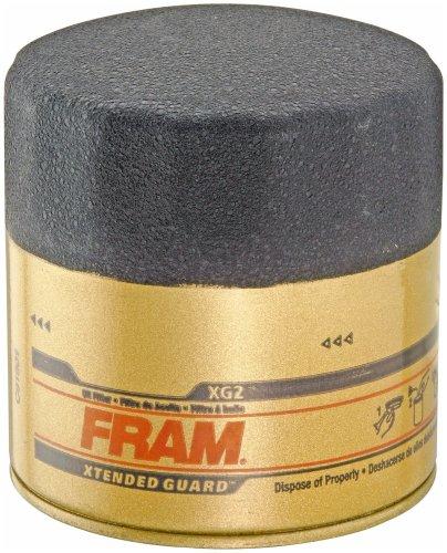 Fram XG2 Extended Guard Passenger Car Spin-On Oil Filter (Pack of 2) (2003 Honda Cr V Fram Oil Filter)