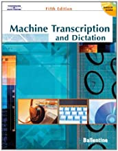 Machine Transcription & Dictation (with CD-ROM) (Paperback)