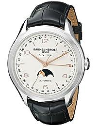 Baume Mercier Men's BMMOA10055 Clifton Analog Display Swiss Automatic Black Watch