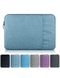 YiYiNoe Laptop Sleeve Case Bag for Macbook 12 inch,Denim Blue