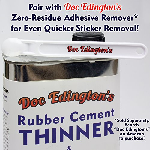 Doc Edingtons Scotty Peeler 10 Pack. Pro-Grade Label Scraper/Sticker Removal Tool Works Great & Safer Than Razor Blade Scrapers. Use This Plastic Scraper With Our Adhesive Remover for Best Results. by Doc Edington's (Image #1)