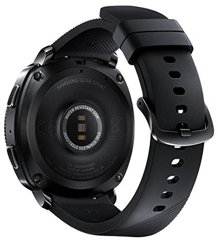 Samsung Gear Sport Smartwatch Fitness Tracker- Water Resistant - International Version- No Warranty- Black (SM-R600NZKATTT) by Samsung (Image #3)