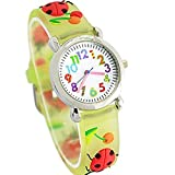 Fashion Brand Quartz Wrist Watch Baby Children Girls Boys Watch Chafer Pattern Waterproof Watches