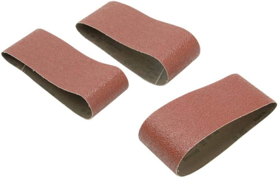 3 Black 100g Decker bandes abrasives 75 X 450mm