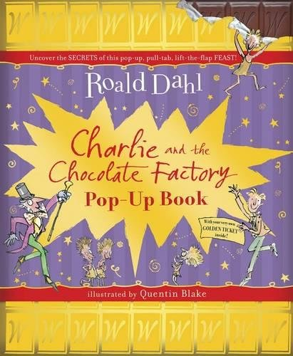 Amazon.fr - Charlie And The Chocolate Factory Pop-Up Book - Roald ...