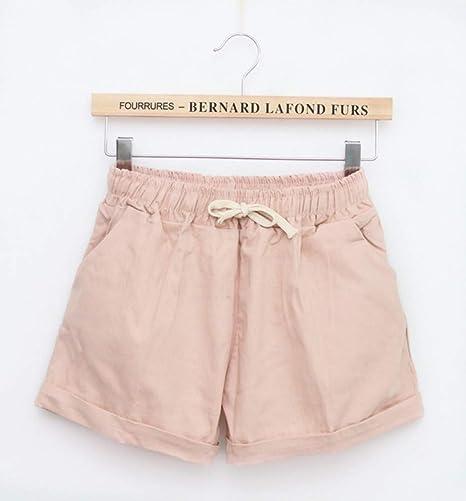 NSDKFF Pantalones Cortos De Mujer Las Mujeres De Cintura Alta ...