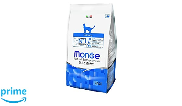 Monge Cat Natural superpremium Urinary Ricco de Pollo 1.5 kg: Amazon.es: Productos para mascotas