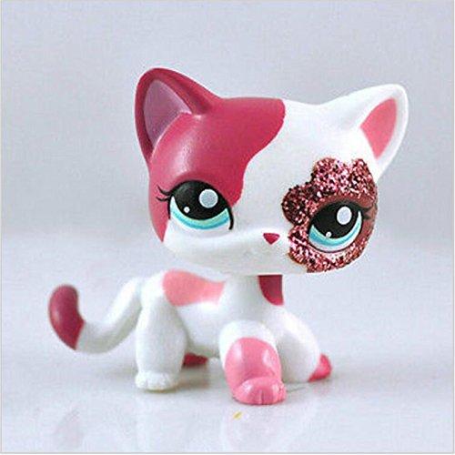 Pet Littlest Figure Loose Shop (TemeFler Littlest pet Shop lps 2291 Animal Pet Cat Collection Child Girl Boy Figure Toy Loose Cute lps …)