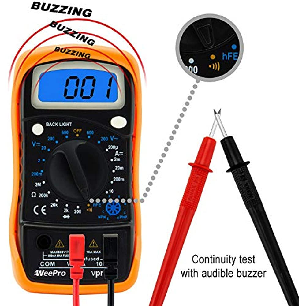 craftsman digital multimeter with ac voltage detector