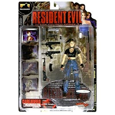 Palisades Resident Evil Action Figures Series 2 Claire Redfield Bloody Version Resident Evil Code Veronica: Toys & Games