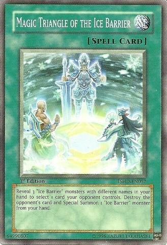Yu-Gi-Oh! - Magic Triangle of the Ice Barrier (TSHD-EN057) - The Shining Darkness - 1st Edition - Common