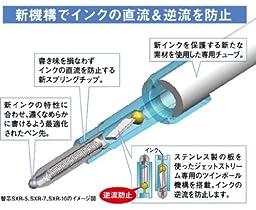 Uni Jetstream Multi Function Pen, 4 Color Ballpoint Pen, Black Barrel (MSXE510007.24)