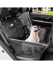 MATCC Hunde Autositz Auto Hundesitz Rückbank für Kleine bis Mittlere Hund mit Hundesicherheitsgurt Autositzbezug Wasserdicht Reißfest mit Aufbewahrungstasche Hundedecke Für Haustier Reise
