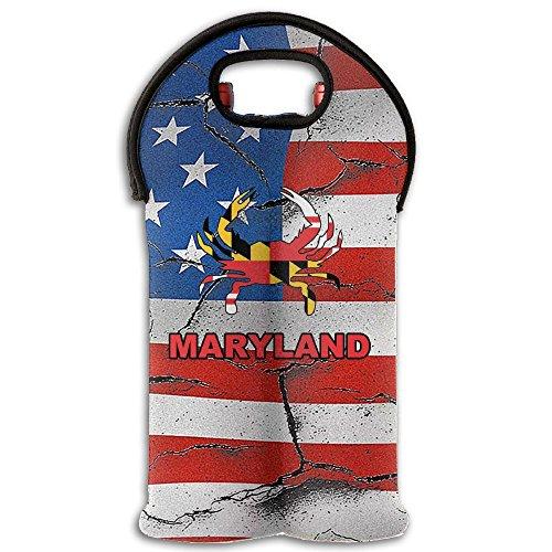 Maryland Terrapins Art Glass - 2