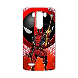 Red cloth Deadpool Cell Phone Case for LG G3