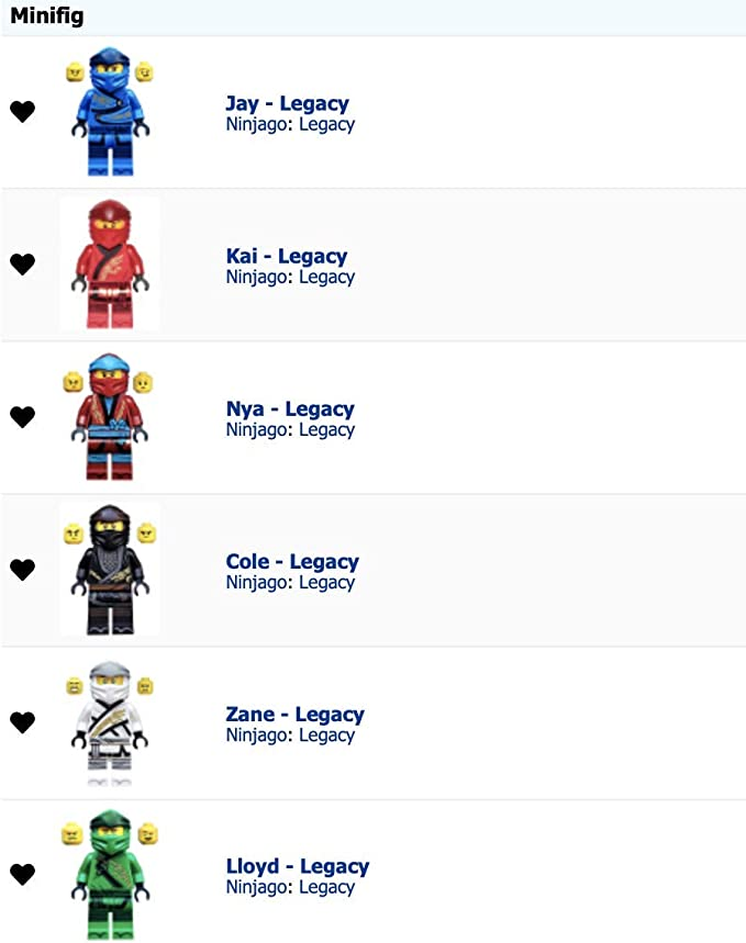 Lego Ninjago Serie 5 TCG 4 x Limitierte LE 1 Lloyd LE 2 Kai LE 3 Cole LE 4 Zane