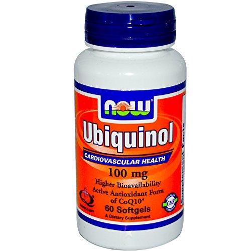 Foods Ubiquinol 100mg Soft gels 120 Count