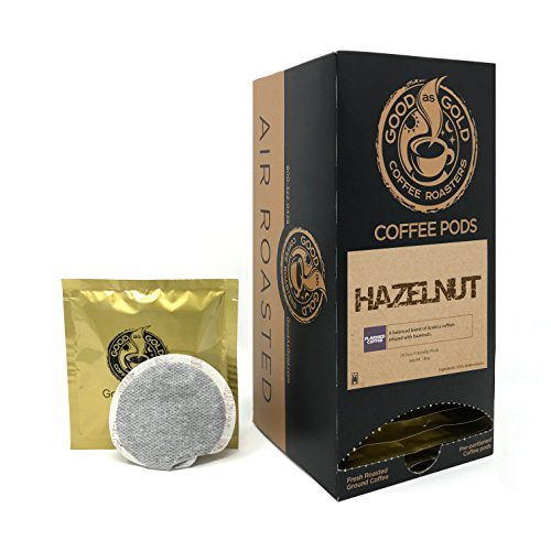 HAZELNUT COFFEE PODS - Good As Gold Coffee - (18 Pods) ()
