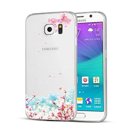 Funda Galaxy S8,Vanki® Carcasa Cubierta TPU Silicona Goma Suave Case Protection y Premium Clarity Cover Ultra Fino Anti-Arañazos para Samsung Galaxy S8-diseño original 13