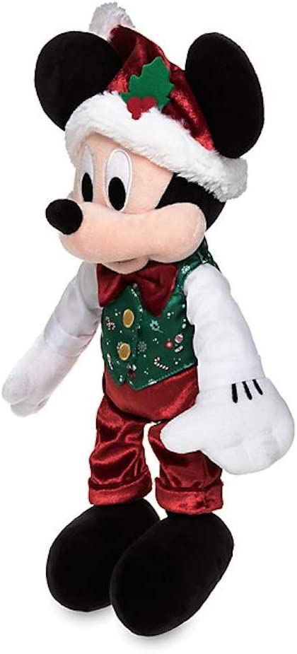 /Édition de No/ël Ann/ée 2019 Disney Store Mickey Mouse Holiday Cheer Peluche Moyenne 43cm