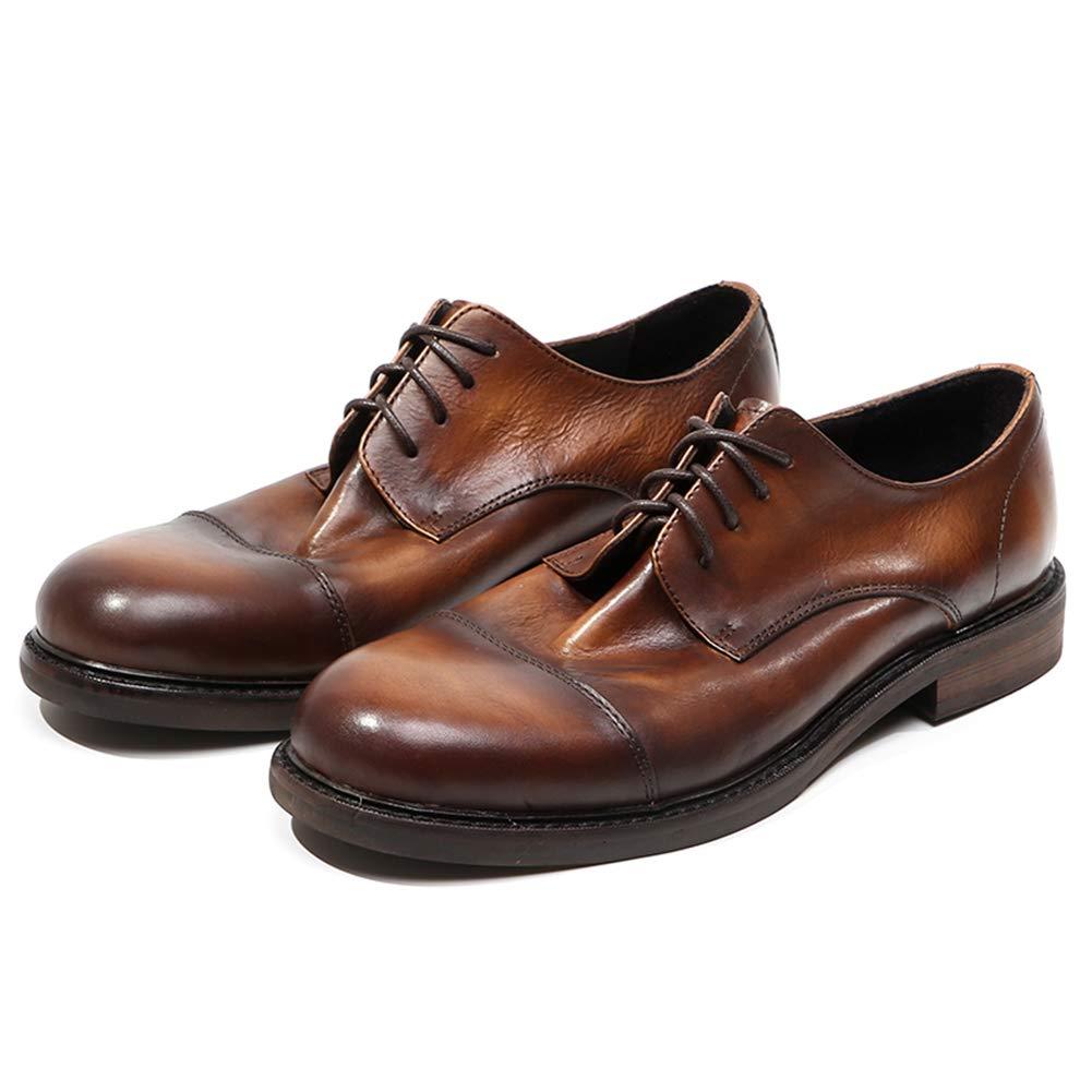 LEFT&RIGHT Formale Oxford Derby Schuhe Für Männer - Schnüren Schuhe, Daily Wahl Für Hochzeit Business Daily Schuhe, Wear, Weiche Und Bequeme Flache Freizeitschuhe 14cf51