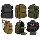Explorer Tactical Heavy Duty Range Backpack With Adjustable Compartments R4