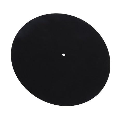 Vinyl LP Tocadiscos Slipmat Record Wool Pads Antiestático ...