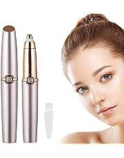 AIWKR Facial Hair Remover voor vrouwen, pijnloze Lady Hair Remover, Trimmer, draagbare elektrische scheerapparaat voor wangen, lippen en kin