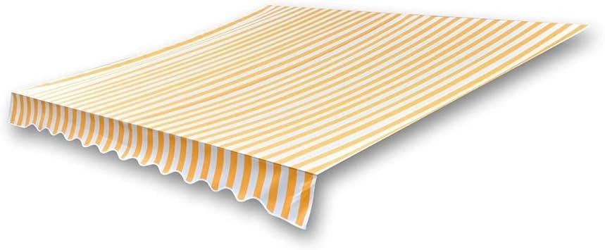 VD Markisenstoff Sonnenschutz Anthrazit 450×300 cm Segeltuch NEU 2019