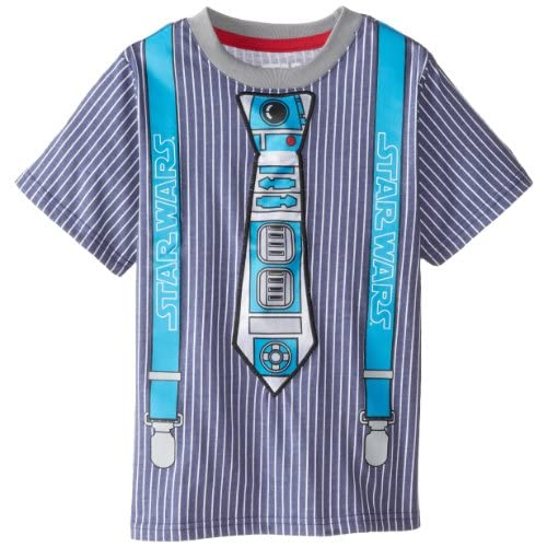 cheap Star Wars Boys' R2D2 Tie Juvy T-Shirt free shipping