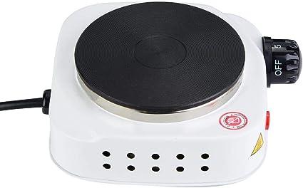 𝐏𝐚𝐬𝐜𝐮𝐚】 Mini estufa eléctrica, portátil 500W Mini ...