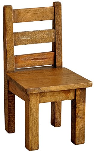 Casual Elements Child Chair (Set of 2), Rustic Mango Natural For Sale