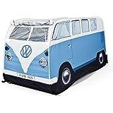 Volkswagen Camper Van Childrens Blue Pop Up Play Tent