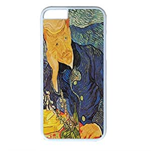 Vincent Van Gogh Design PC White Case for Iphone 6 Portraitof Dr Gachet wangjiang maoyi