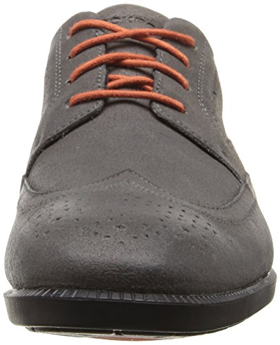 Rockport Men's Dressports Business Wing Tip Shoe Castlerock Grey Suede huge surprise online with credit card for sale discount for nice sale 2014 o9UyTtnk