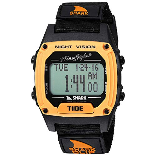 Freestyle Tide Japanese-Quartz Sport Watch with Nylon Strap, Black, 20 (Model: 10027114)