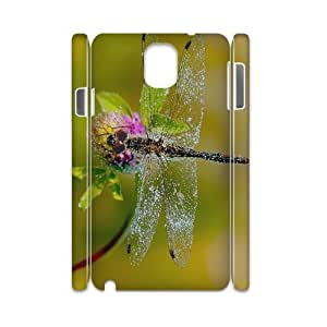 T-TGL(RQ) Customized New Printed Phone Case for Samsung galaxy Note 3 N9000 3D diy Dragonfly case