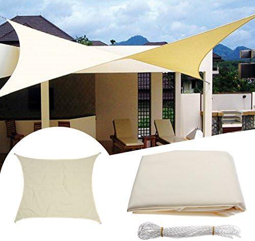 3.5 X 3.5 m Carrà de sol toldo toldo Patio jardín toldo bloque UV Top Shelter