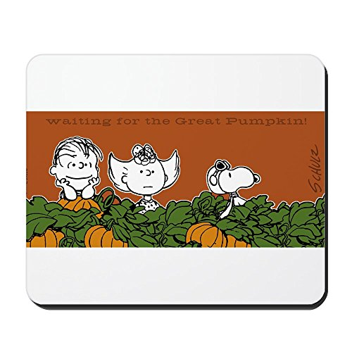 CafePress - Halloween in The Pumpkin Patch - Non-Slip Rubber Mousepad, Gaming Mouse Pad