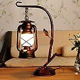 Bedroom Bedside Lamp Light Kerosene Table Lamp Decoration 460280Mm Retro American Study Desk Lamp