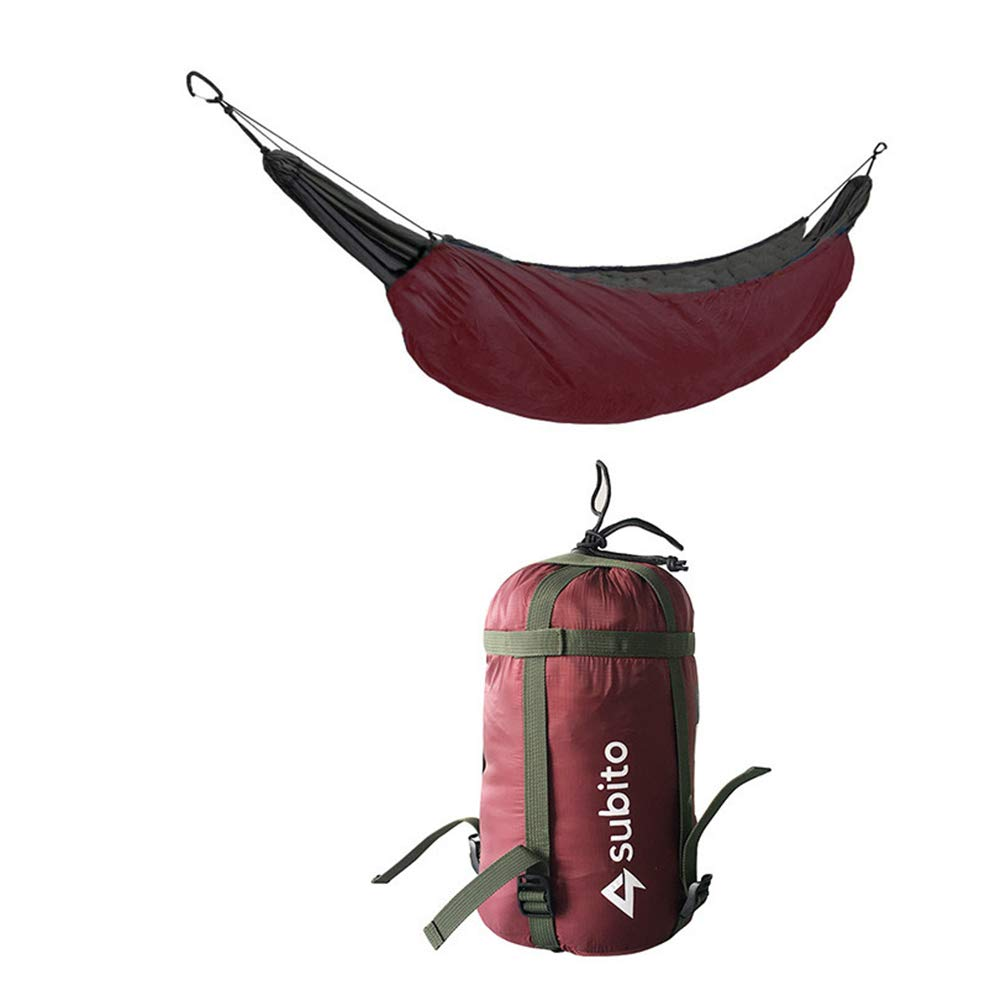 AFFC Camping Hammock Outdoor Lightweight, Keep Warm, Heat Retaining Nylon, Cotton for Camping/Travel,3