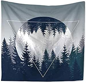 The Night Of The Forest Printed Beach Towel Wall Art Tapestry Wall Hanging Bedspread 150cmX130cm