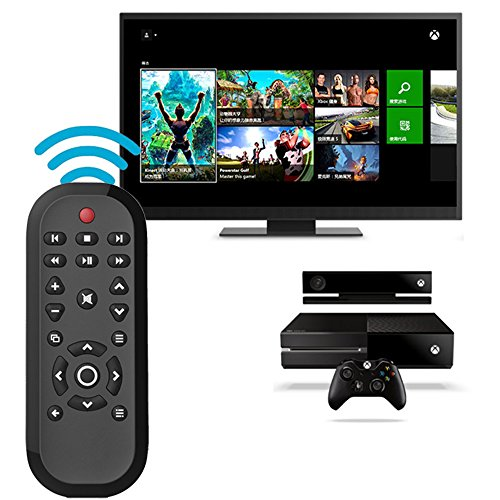 Xbox One Remote Control Coolly Wireless Media Remote Control for Microsoft Xbox One for Controlling Playback of Blue-ray Disc/ Playing ()