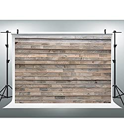 Maijoeyy 7x5t Photography Backdrops Retro Wood Wall Photo Booth Props Brown Wood Floor Studio Props Backdrop Wood Backdrop NTZC-020