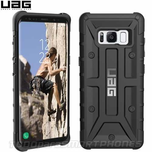 Urban Armor Gear GLXS8-A-BK - Carcasa para Samsung Galaxy S8, Color Negro (Pathfinder Black)