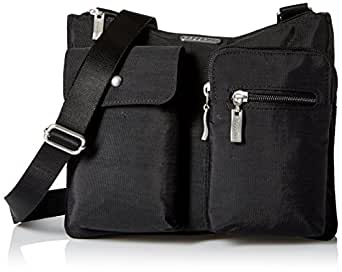 Baggallini Everything Travel Crossbody Bag, Black, One Size