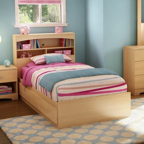 South Shore Step One Collection Twin Mates Bed (39