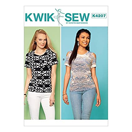 Amazon Kwik Sew Ladies Easy Sewing Pattern 4207 Pullover Jersey